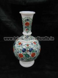 Marble Inlay Flower Pots