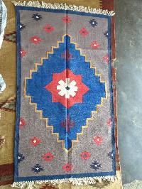 Dhurries or rugs handmade
