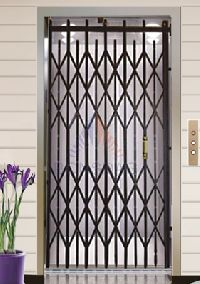 imperforated door