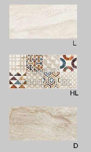 600x300mm Aro Glossy Wall Tiles
