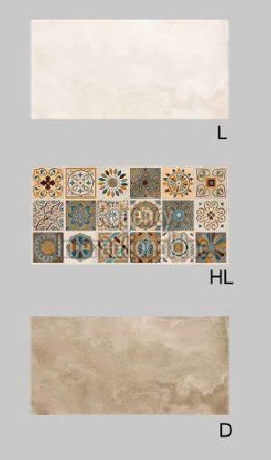 600x300mm Aro Hard Matt Wall Tiles