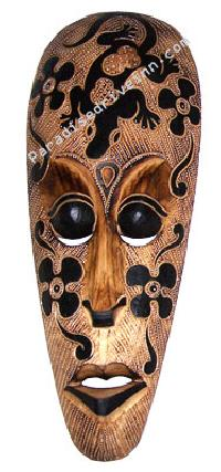 Wooden Painted Masks