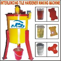 interlocking tile hardener machine