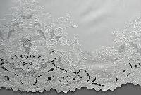 Cotton Cutwork Bed Cover