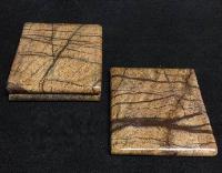 NS0011 Marble Wood Coasters Set