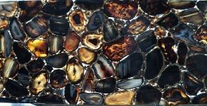 Black Agate Tiles