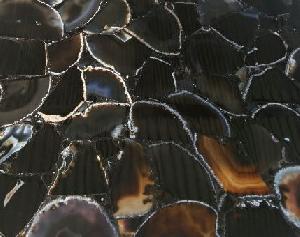 Black Fire Agate Tiles