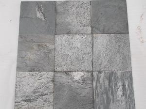 Silver Shine Slate Stone Tiles