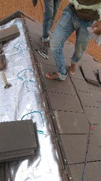 Tiles Laying