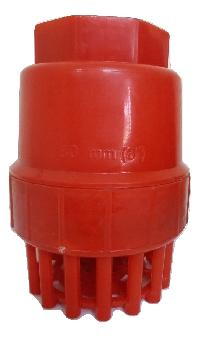 pp red foot valve
