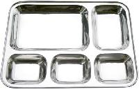 Stainless Steel Compartment Thali