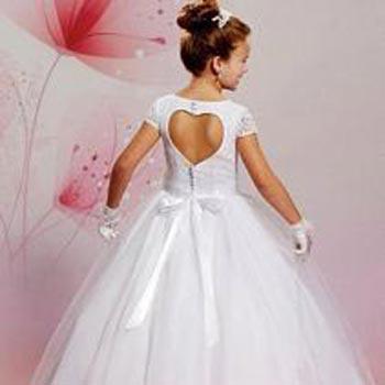 Girls Designer First Communion Dress