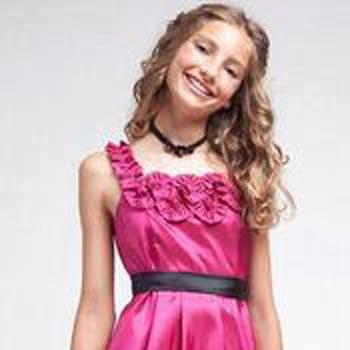 Girls Sleeveless Party Wear Dress