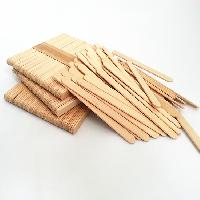 Wooden ice cream stick
