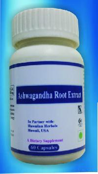 Hawaiian Ashwagandha Root Extract Capsules