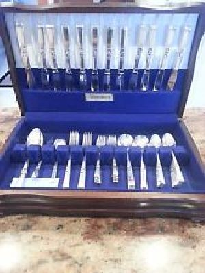 Gold And Silver Plated Cutlery Set