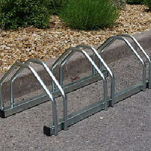Floor Mounted Bicycle Stands