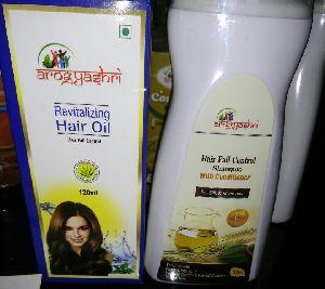 Hair Treatment Oil With Herbal Shampoo