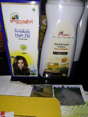 Hair treatment oil &shampoo combo