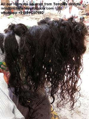 Natural Human Hair sourced from Temple directly