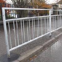Pedestrian Guard Railing Fabrication