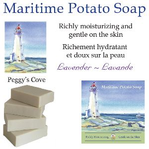 Maritime Lavender Potato Soap