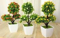 Plastic Artificial Flower Decoration