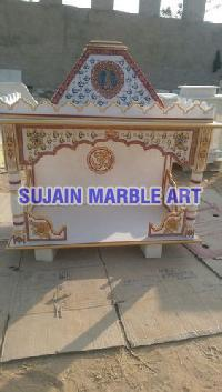 Marble Painted Temple