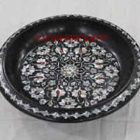 Marble Fruit Bowls