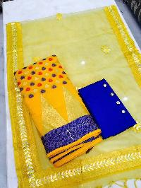 Tissue Silk Salwar Suits