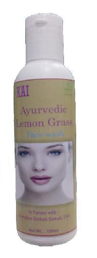 Hawaiian Ayurvedic Lemon Grass Face Wash
