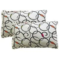 Cotton Polka Dot White Pillow Cover