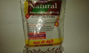 Natural Black Hair Colour