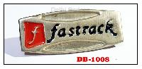 Metal Embossed Badge with color filling for accessories