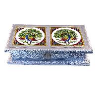 Dry Fruit Box -1 (silver)