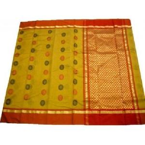 Yellow Chanderi Sarees