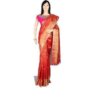 Designer Brocade Silk Sarees