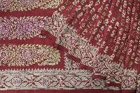 Baluchari Printed Tussar Saree