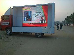 Led Advertising Van On Rent In Gujarat