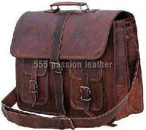 GOAT LEATHER BRIEFCASE BAG
