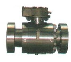 Ss Two Piece Flanged End Ball Valve