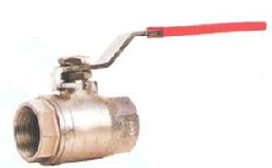 Two Piece Flanged End Ball Valve