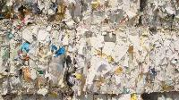 used newspaper bale