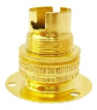 B15 Brass Batten Lamp Holder