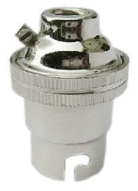 Nickel Brass Lamp Holder