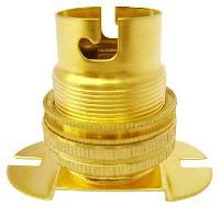 Oval Base Brass Batten Lamp Holder