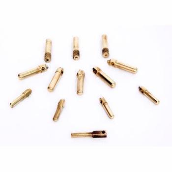 Brass Round Socket Pins