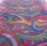 Rainbow Prints Fabric