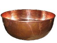 Copper Pedicure Spa Bowl