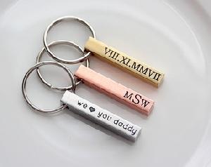 Custom Metal Engraved Key Chains